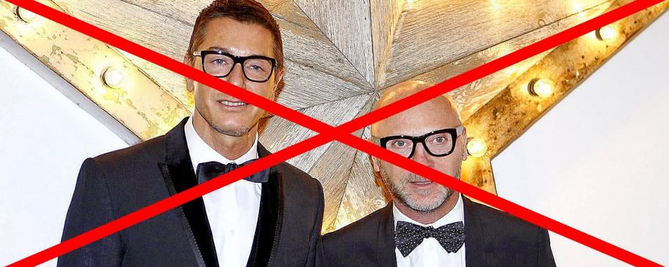Sramotne izjave dvojca iz Dolce & Gabbana pokrenule su žestoke reakcije na društvenim mrežama