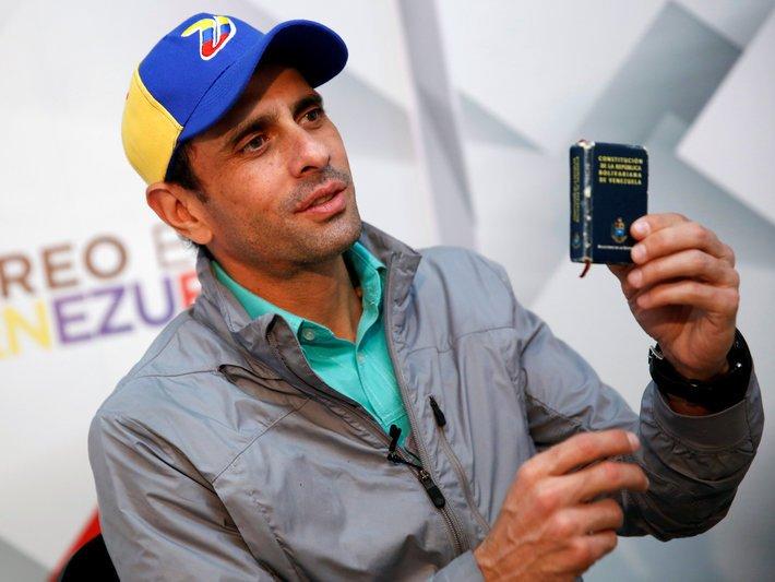 Henrique Capriles Radonski.Thomson Reuters