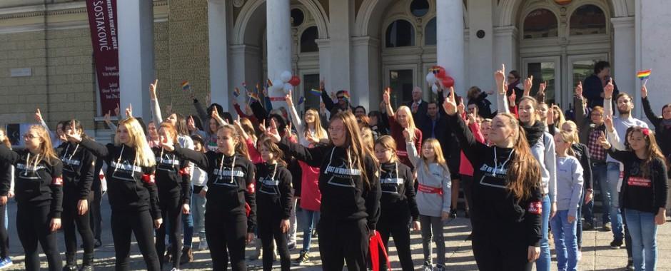 Treću godinu zaredom Rijeka je ustala PROTIV nasilja prema ženama