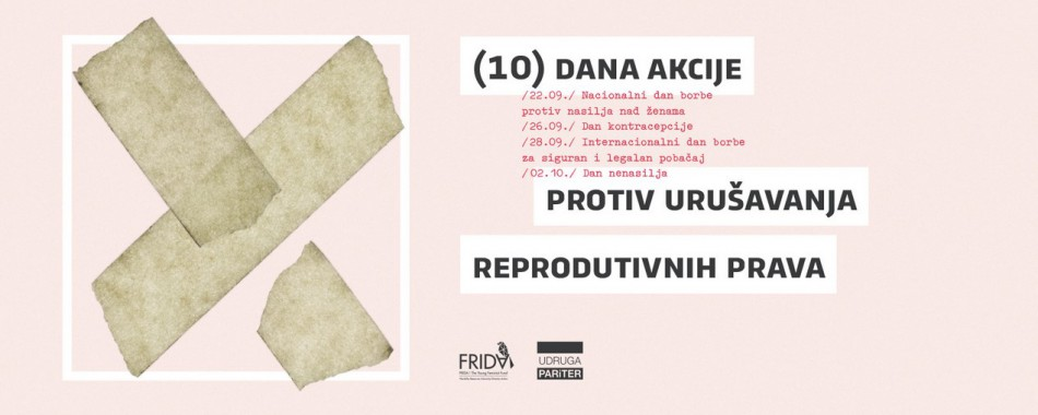 Započelo 10 dana akcije protiv urušavanja reproduktivnih prava žena